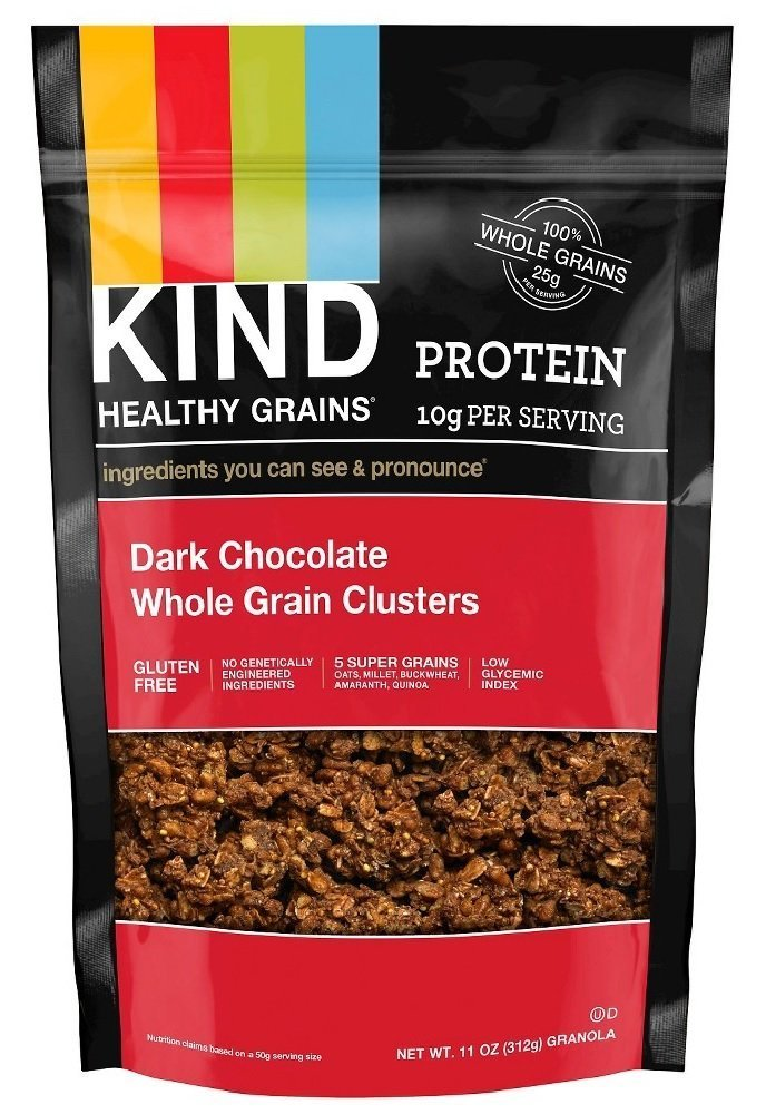 Meditalia Clstr,Drk Choc,Whlegrain 11 oz (Pack of 6)