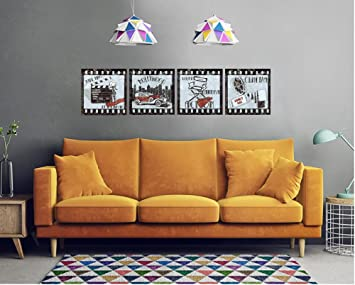 Amazon.com: Old Película Canvas Prints Pared Arte Fotos ...