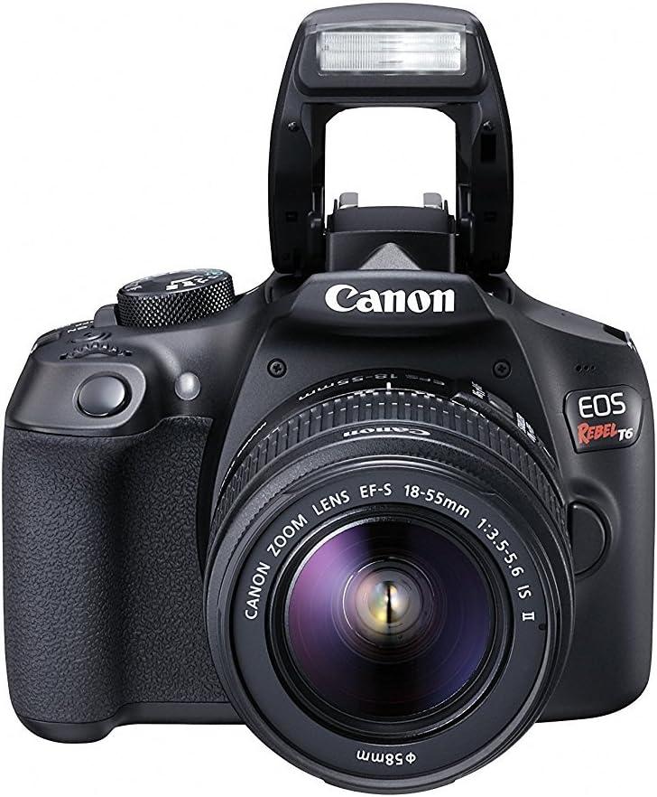 Canon EOS Rebel T6 - Kit de cámara réflex Digital: Amazon.es ...