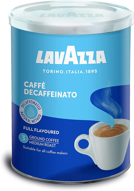 Lavazza Café Molido Espresso Dek Classico, Descafeinado 250 g ...