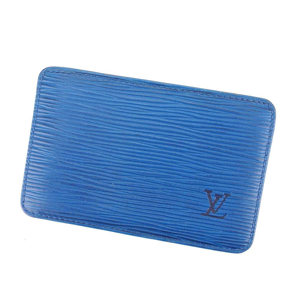 (Louis Vuitton) ルイ ヴィトン カードケース 名刺入れ レディース メンズ ポルト カルトサーンプル エピ 中古 C3537   B07MVFGJM2