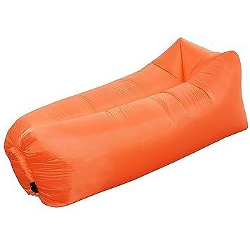 Canapé De LonguePortable Lits Couchage Se Idéal Pour Chaise Air Gonflable DétendreCampingPlagePêcheRafraîchirLes Fêtes dCorxeBW