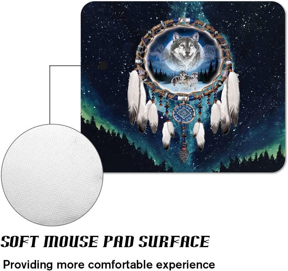 Basketball Fire Gaming Office Mouse Pad ZTtrade Durable Customized Non-Slip Rubber Mouse Pad-Rectangle.