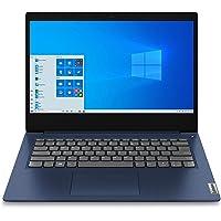 "Lenovo IdeaPad 3 14"" Laptop 14.0"" FHD (1920 x 1080), procesador AMD Ryzen 5 3500U, 8 GB DDR4 RAM, 256 GB SSD, AMD Radeon Vega 8 Graphics, Bisel Estrecho, Windows 10, 81W0003QUS, Azul Abyss"