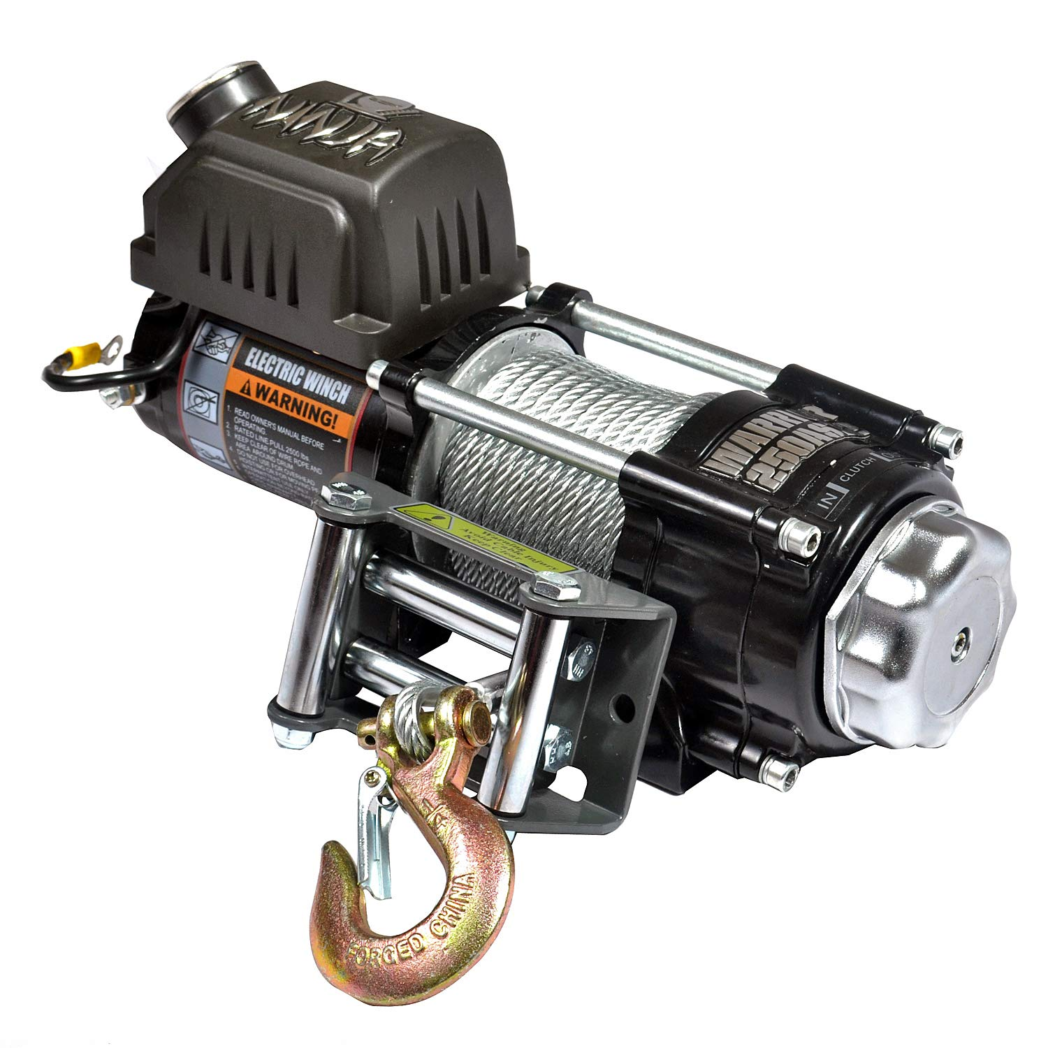 Warrior WW25SPS24 ATV/UTV Quad Elektrische Seilwinde Ninja 2500LB A 1, 1 t 24 V Winch Solutions Ltd.
