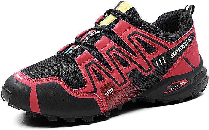 GNEDIAE Hombre KR-3 Caña Baja Calzado de Trail Running Running Atletismo Rojo 40 EU: Amazon.es: Zapatos y complementos