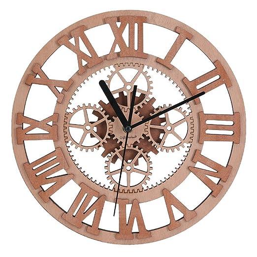 43 opinioni per Giftgarden Orologio da Parete Ingranaggio Design in Legno
