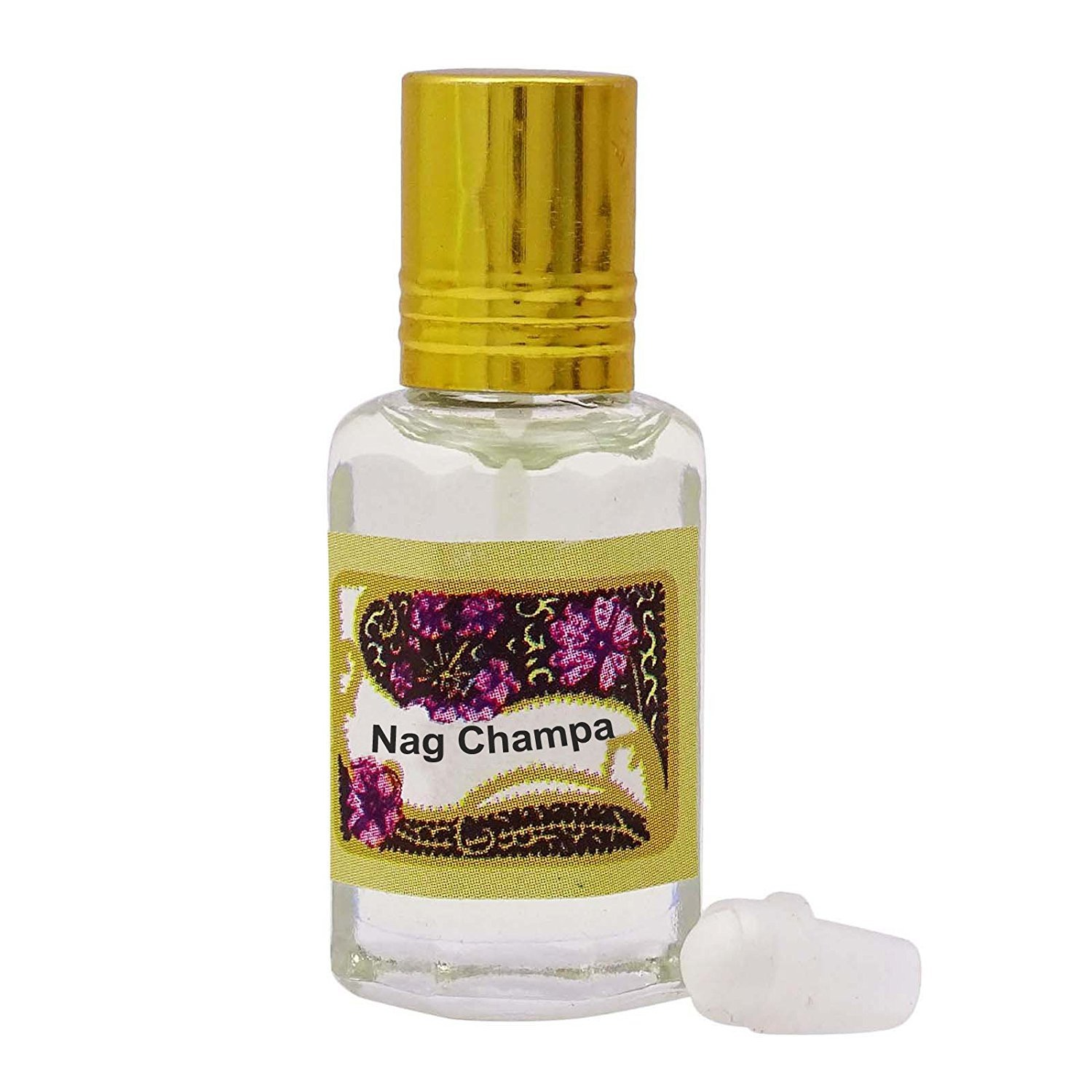Nag Champa Fragrance Oil 100% Pure and Natural Perfume Oil - 10ml