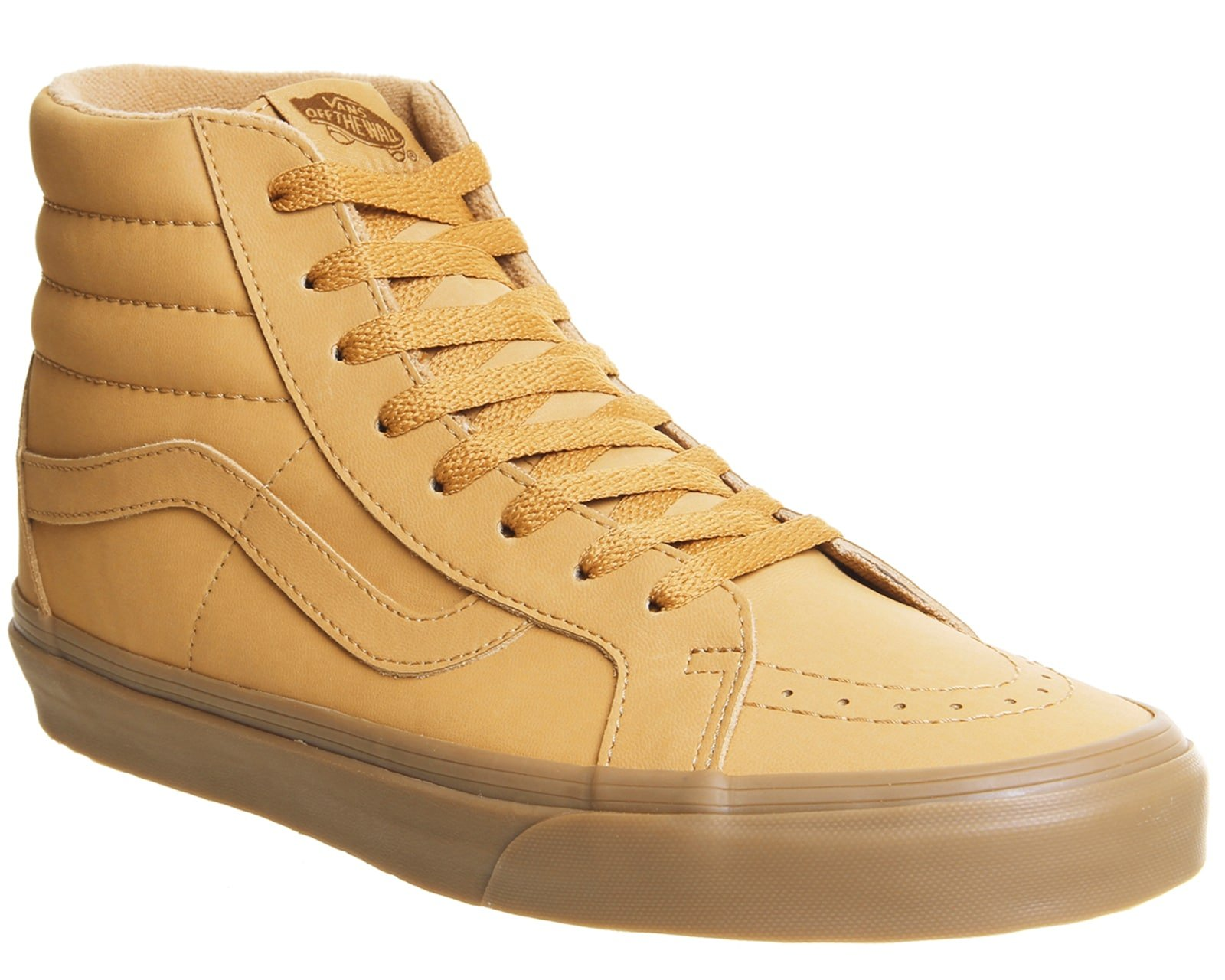 0c2931eef4 Galleon - Vans Unisex Sk8-Hi Reissue (Vansbuck) Light Gum Mono Skate Shoe 9  Men US 10.5 Women