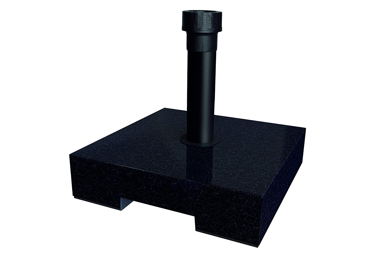 Best Parasol Base 25kg Concrete Granite, 40x 40x 8cm 62225050