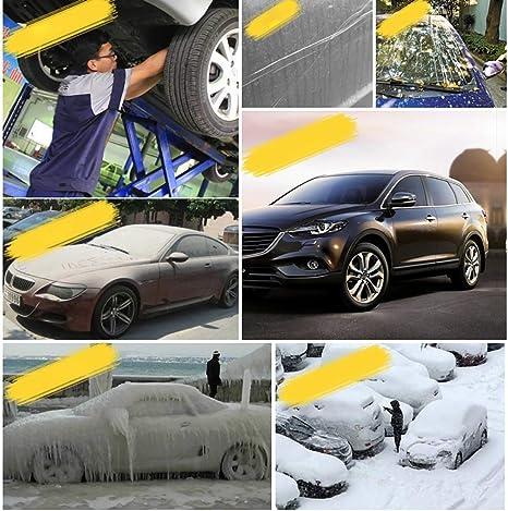 HEQCG Copriauto Compatibile con Copertura dellautomobile AstonMartin DB9,4 Strato Addensato Copertura dellautomobile Multifunzione Crema Solare e Impermeabile alla Polvere copriauto