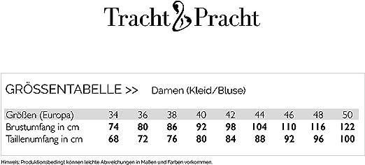 /En coton Chemisier costume /à carreaux Tracht /& Pracht Pour femme