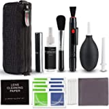 Rabbitstorm Camera Cleaning Kit 10 PCS for Most Cameras Optical Lens and Digital SLR Cameras, Lens Cleaning Kit for…