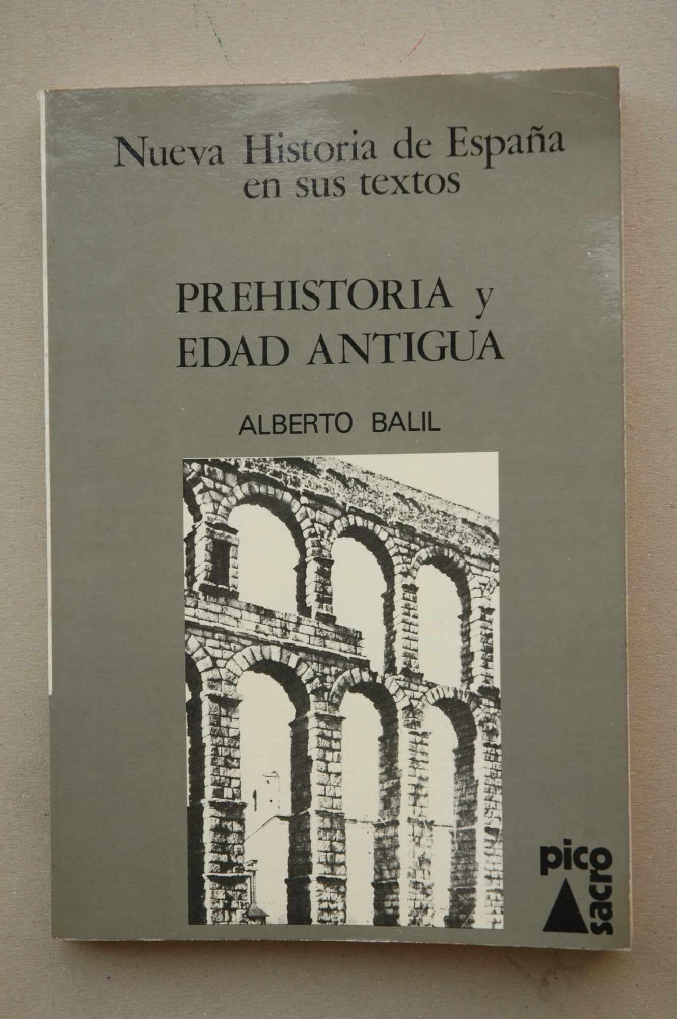 Prehistoria y edad antigua Nueva historia de España en sus textos ...