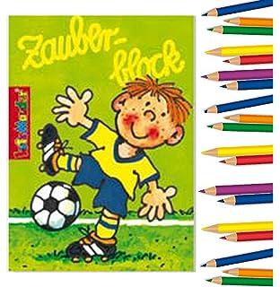 Lutz Mauder Carpeta 8 X Zauberblock Fussball In Din A8