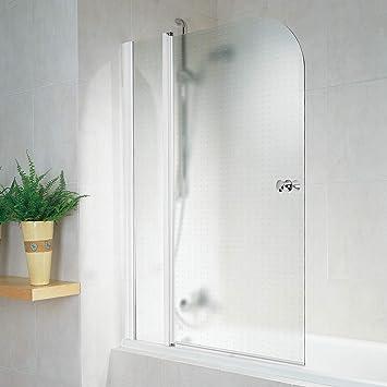 Schulte D850 56 Garant - Mampara de ducha para bañera, 100 x 140 ...
