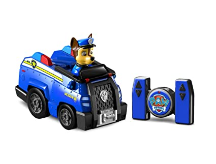 Amazon Com Paw Patrol My First Rc Chase Rescue Racer Remote Control For Ages  And Up Toys Games