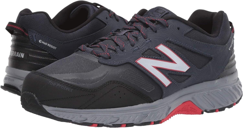 [ニューバランス] メンズハイキング・アウトドア・トレールシューズ・靴 510v4 Thunder/Black 9.5 (27.5cm) D - Medium [並行輸入品]
