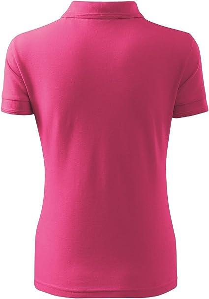 Polo camisa Polo para mujer Pique Polo 200 Color Morado Tamaño a ...