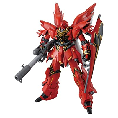 Bandai Hobby MG Sinanju (Animation Color): Toys & Games
