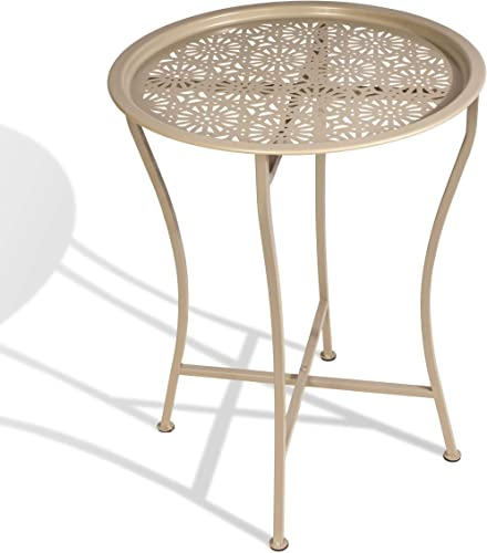 Atlantic Daisy Tray Side Table