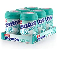 Mentos Pure Fresh Winter Green - 32 Pieces (Pack of 6)