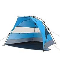 Qeedo Quick Bay Xl Strand-Zelt mit UV-Schutz (UV80 nach UV-Standard 801) Pop-UP-Strandmuschel