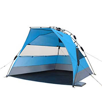 Qeedo Quick Bay XL Pop-Up (Quick-Up-System) Beach Tent  sc 1 st  Amazon UK & Qeedo Quick Bay XL Pop-Up (Quick-Up-System) Beach Tent with UV ...