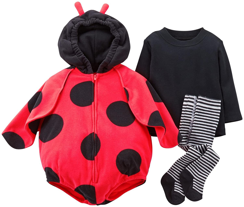 amazoncom baby girlsu0027 halloween costume baby ladybug 12 months baby