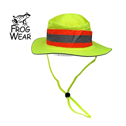 Global Glove GLO-H2 Frog Wear High Visibility Ranger Boonie Hat (1 ... 5594290e3ae