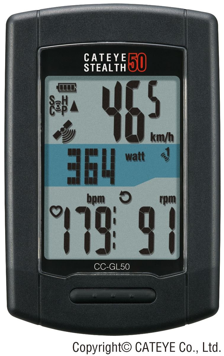 Cateye Stealth 50 Cycling Computer