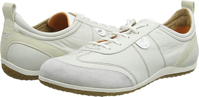 Dispersión Asistir Cirugía  Geox D Vega A, Baskets mode femme, Blanc (C1352), 35 EU: Amazon.fr:  Chaussures et Sacs