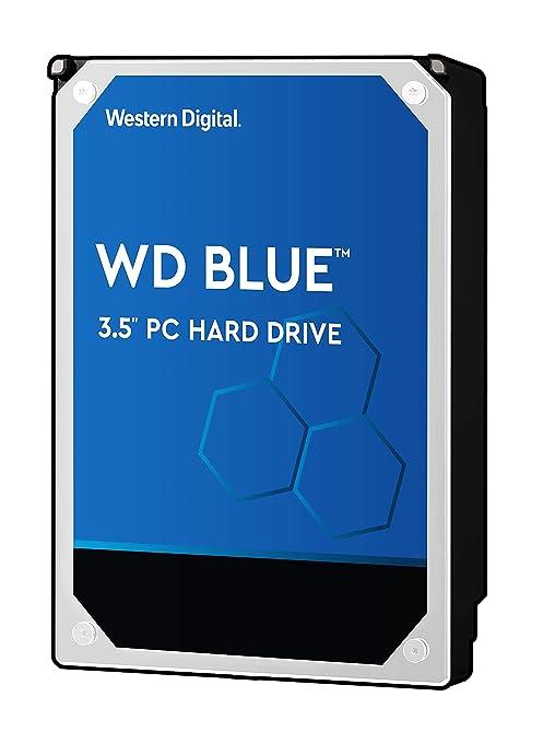 WD Blue 2TB PC Hard Drive - 5400 RPM Class, SATA 6 Gb/s, 64 MB Cache, 3 5