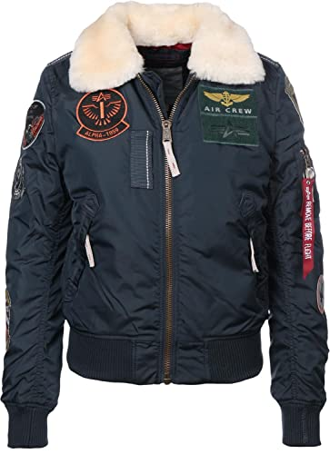 Alpha Industries Injector III Patch W Chaqueta bomber rep blue