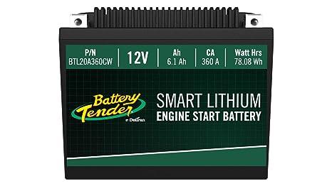 Amazon.com: Batería de litio Supersmart BMS, 12 V 6,1 AH ...
