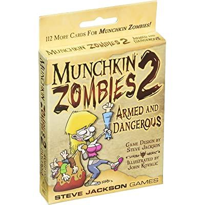 Munchkin Zombies 2 - Armed and Dangerous: Toys & Games