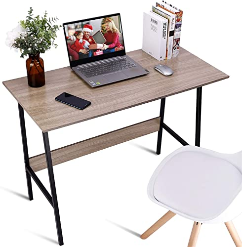 Editors' Choice: Viewee 39″ Small Desk Study Table Simple Style Computer Desk Home Office Desk Writing Table Workstation Desk