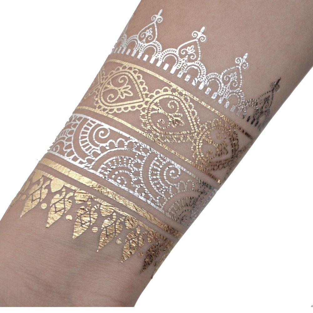 Tatuajes Temporales En Varios Diseños | Adhesivos Removibles ...