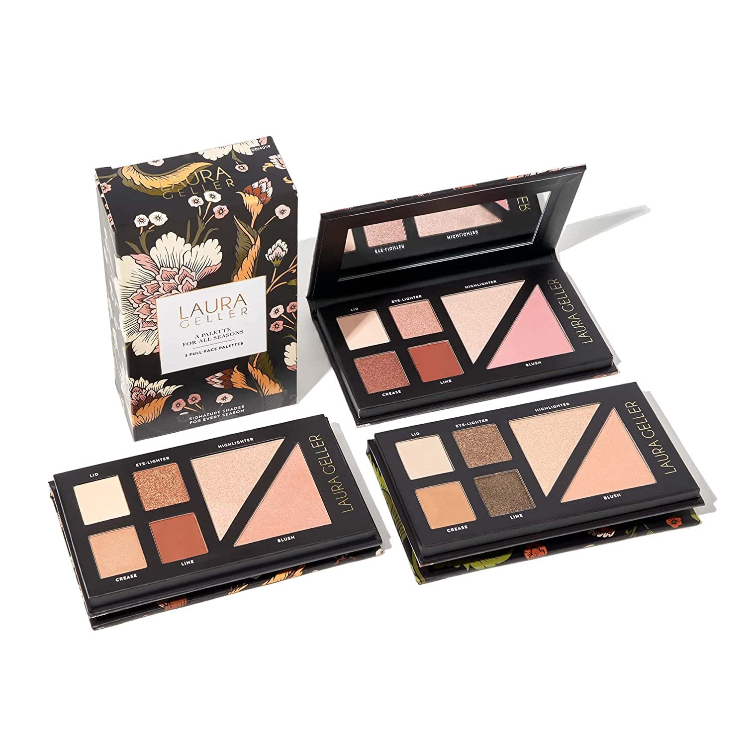 LAURA GELLER NEW YORK Palette for All Seasons, Summer Sunsets, Spring Shindigs, Fall Foliage