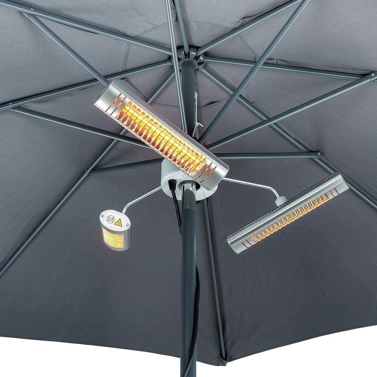 Shadow Parasol Heater Heat Outdoors