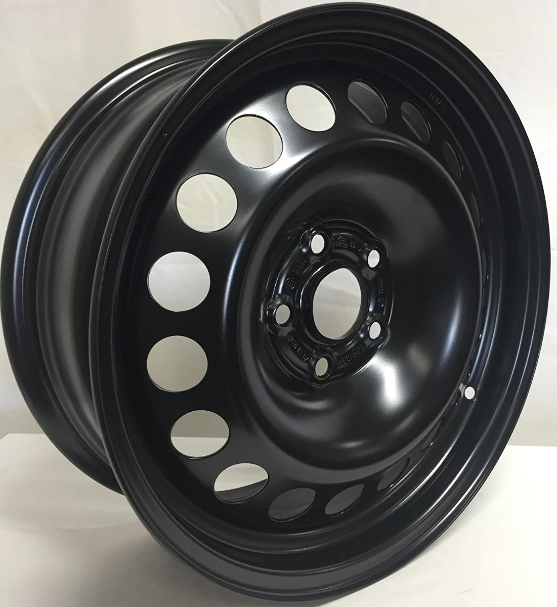 2012 Chevy Cruze Tire Size >> New 16 Inch 5 On 105 Black Steel Wheel Fits Cruze We4745n