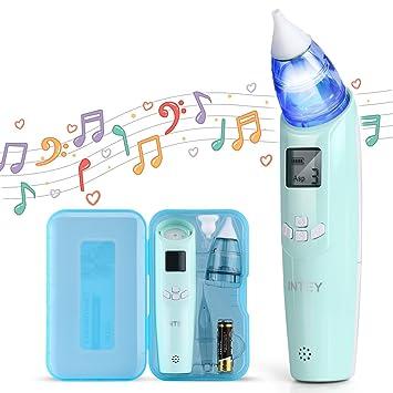 Amazon.com: Intey - Aspirador eléctrico nasal para bebé ...