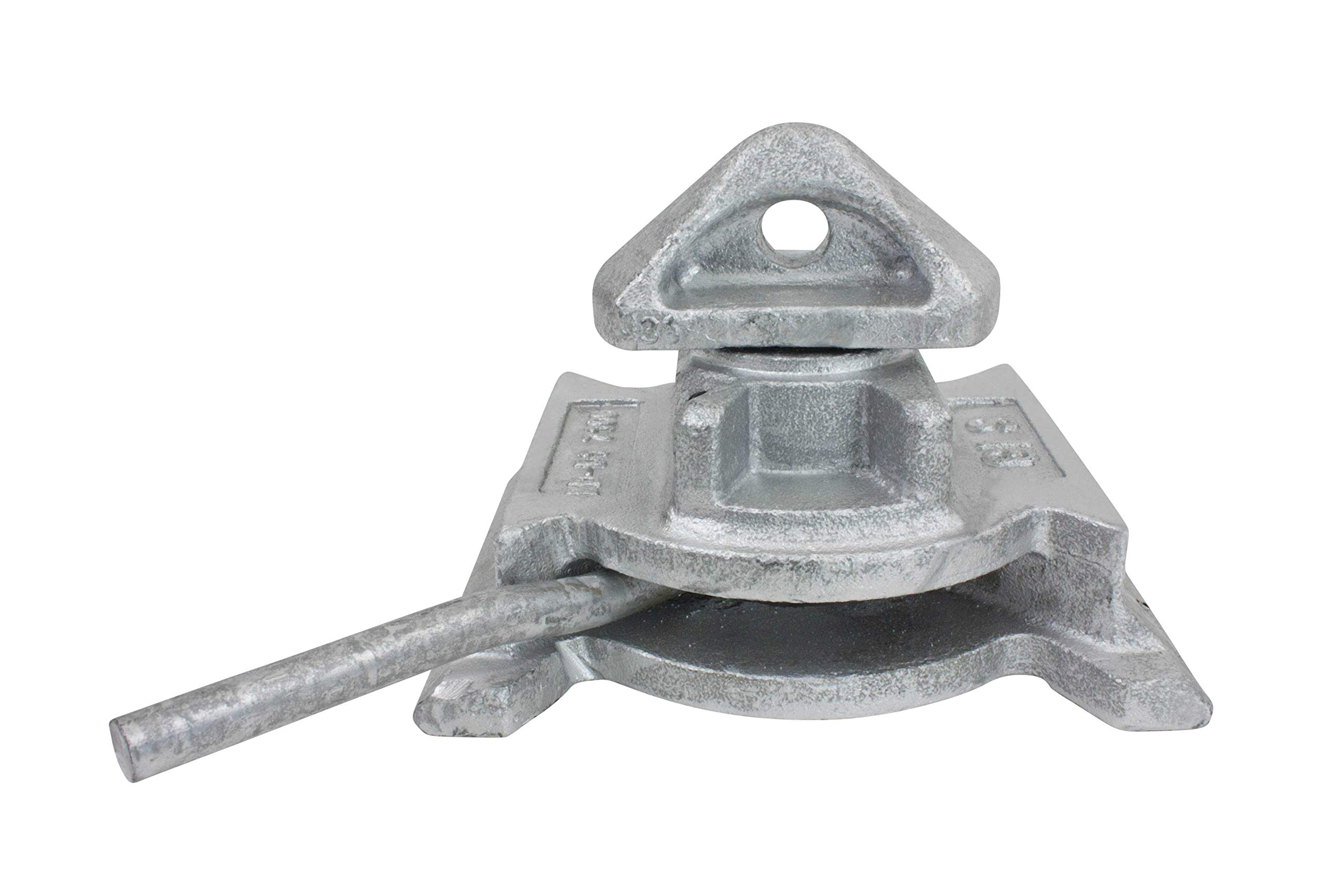 Sea Rail Shipping Container Manual Base Lock Dovetail by Mytee Products