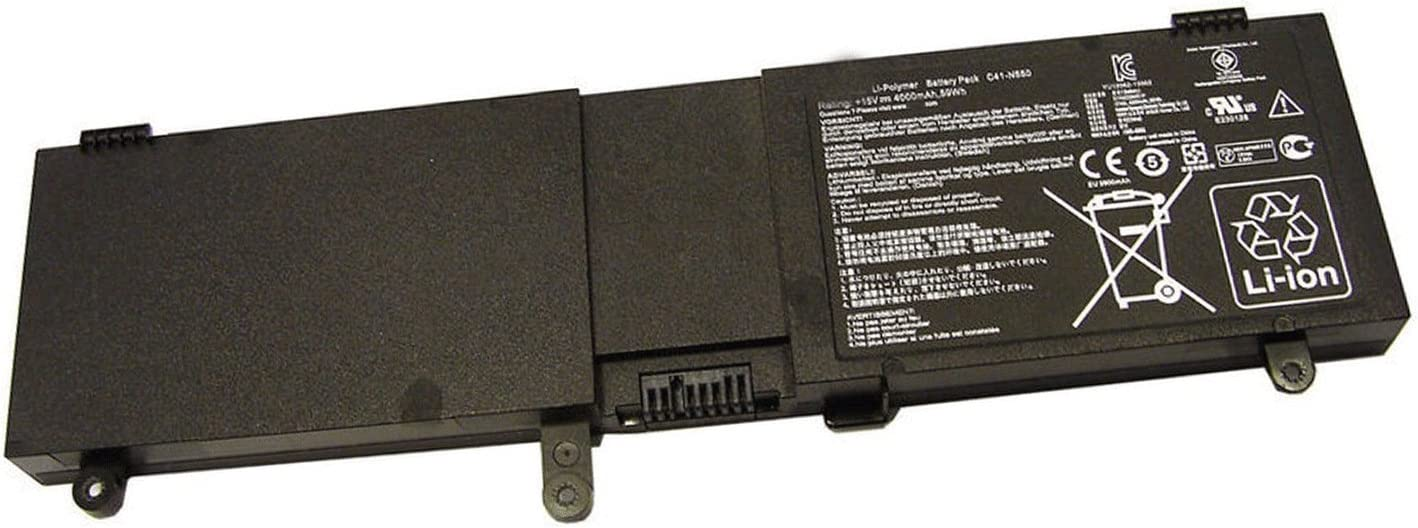 Binger New C41-N550 Replacement Battery Compatible with ASUS N550 N550JV N550JK N550J N550JA Q550L Q550LF(15V 4000mAh/59WH)