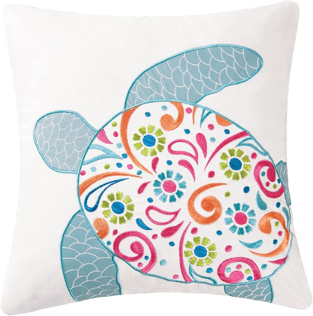 CFF St. Kitts Turtle Pillow