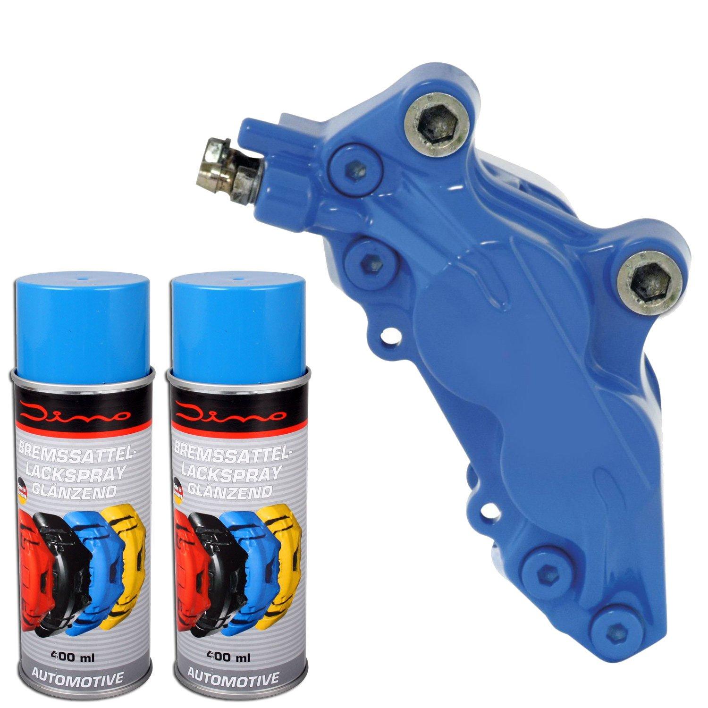 Bremssattellack Spray 1K Blau 1 Komponenten Lack Lackspray 2x400ml Neu Raid