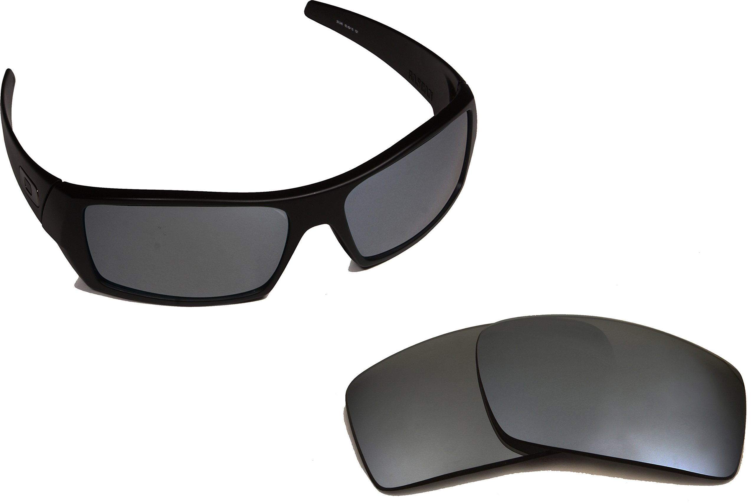 Best SEEK OPTICS Replacement Lenses Oakley GASCAN - Polarized Black Iridium