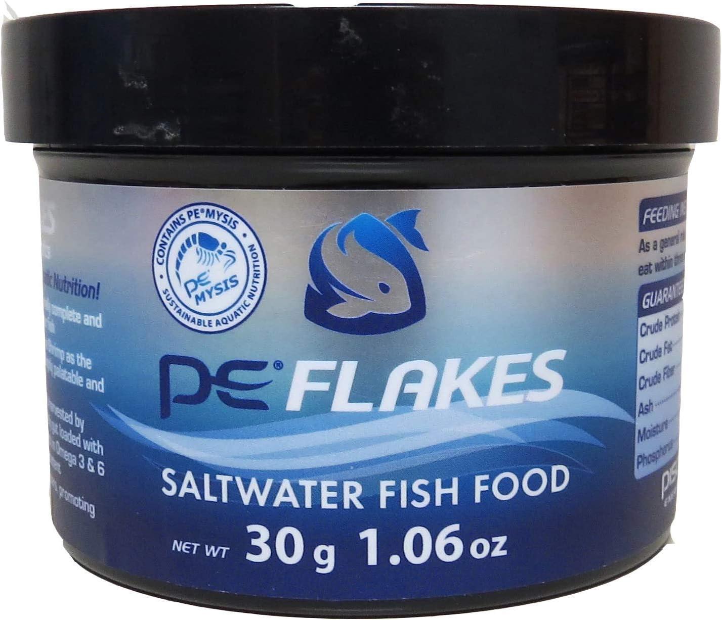 PE Mysis Flakes Saltwater Fish Food (30g - 1.06 oz)