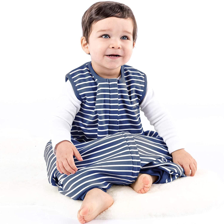 Woolino 4 Season Baby Sleep Bag with feet, Merino Wool Walker Sleep Bag or Sack, 6-18m, Butterfly FeetSS6-18moButterflyFBA