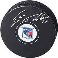 Esa Tikkanen New York Rangers Autographed Hockey Puck - Autographed NHL Pucks photo
